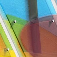 KUNST AM BAU - Dokumentation zur Glasgestaltung Kindergarten Waldneukirchen